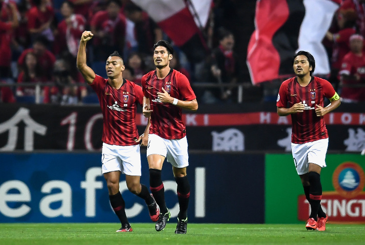 亚冠半决赛首回合-浦和红钻2-0广州恒大